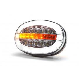 LED Multifunktionsleuchte vorne mit Blinker Positionsleuchte und Tagfahrlicht, 12-24V, vorn, 136x91x40