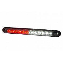 LED Stab Nebelschluss- und Rückfahrleuchte klarglas, 12-24V, 257x27x20