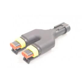Y-Verteiler, Splitter, Superseal Stecker 2-polig, w-w-m