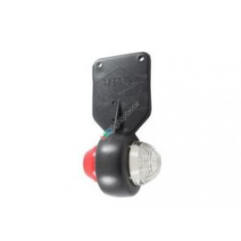 Mini LED Positionsleuchte rot/weiss pendelnd