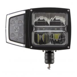 LED Aufbau Hauptscheinwerfer mit Scheibenheizung 12/24V rechts