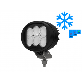 LED Arbeitsscheinwerfer 60W Oledone oval, upgraded Version, 6000 Lumen, Kombistrahler