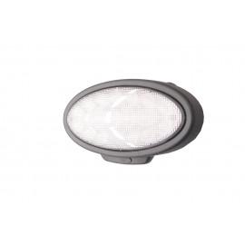 LED Einbauscheinwerfer, Ersatz für Hella oval 90, 3500 Lumen, 12-24V