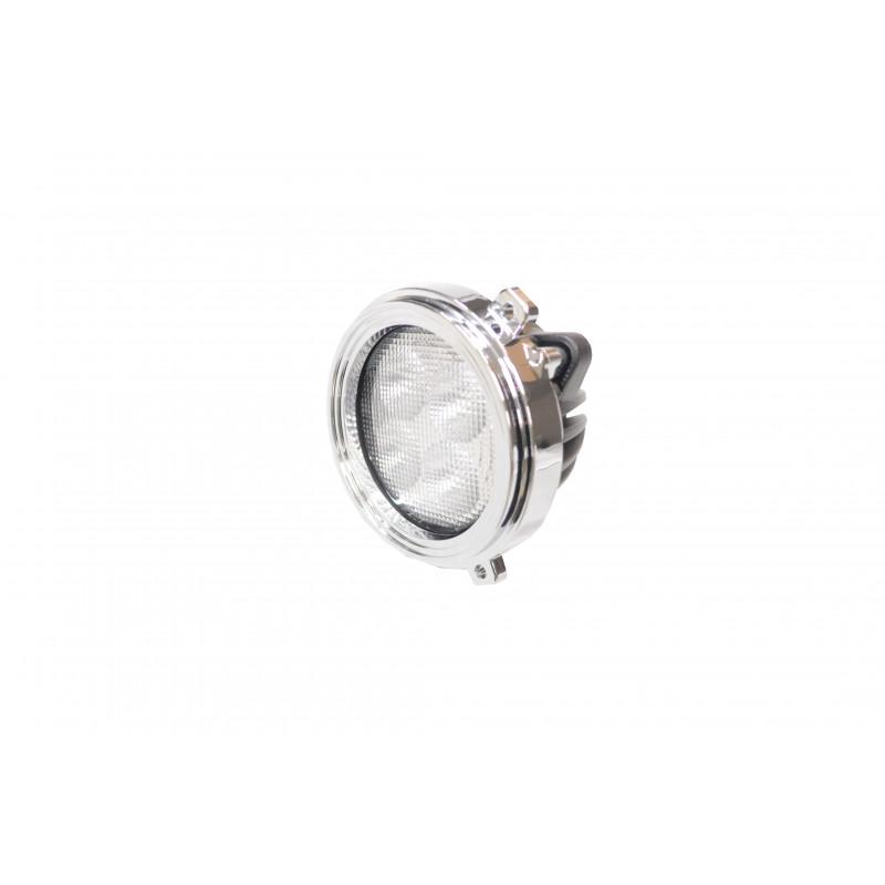 Einbau LED Arbeitsscheinwerfer rund, 80mm, 2200 Lumen, 12-24V