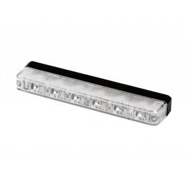 LED Frontblitzer gelb, 6 LED, ultraschlank, 12-24V