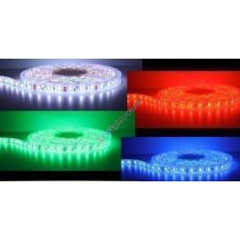 LED Streifen 10mm, 5050SMD, 24V DC, kaltweiss, warmweiss, RGB
