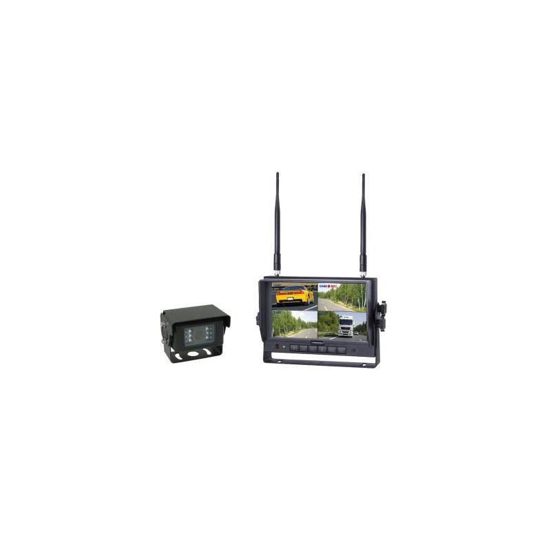 Wireless Rückfahrkamera System mit 7 Zoll Monitor 12-24V