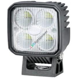LED Rückfahrscheinwerfer korrosionsfrei, mit Kunststoffgehäuse, Hella Q90 12-24V