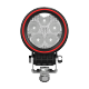 LED Arbeitsscheinwerfer rund 30W Weldex, 5 Jahre Garantie