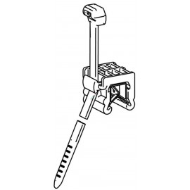 Chassis-Kabelbinder EdgeClip