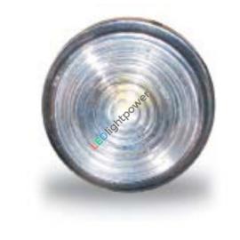 LED Positionsleuchte weiss, rund 30mm, JOKON PL30, 9-33V