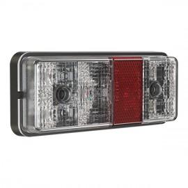 LED Rückleuchte Model 220, 160x65x27mm, 12-24V