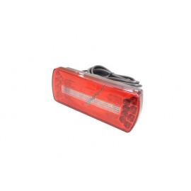 LED Rückleuchte 5 Funktion 12V, 188x76, mit integrierter Blinkerlast