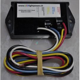 LED Blitzmodul/Flasher 12V 2-Kanal