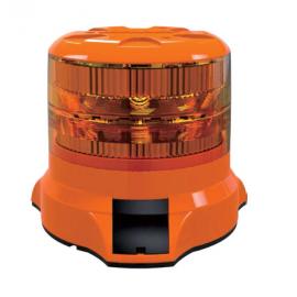 LED Rundumleuchte, Blitzleuchte orange 35W Weldex