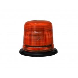 LED Blitzleuchte B18 gelb, 118x116mm Aufbaumontage 12-24V