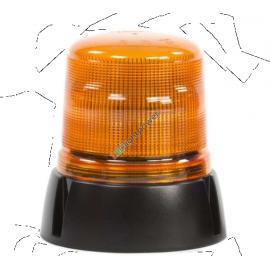 LED Blitzleuchte B18 gelb, 118x155mm Aufbaumontage 12-24V