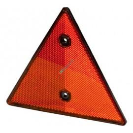 Rückstrahler dreieckig rot