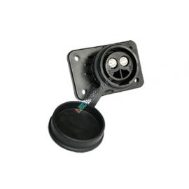 Steckdose 2-pol. 35mm2 Kunststoff