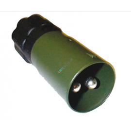 Nato-Stecker 2-pol. 35mm2 Metall