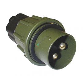 Nato-Stecker 2-pol. 35mm2 mit Mutter