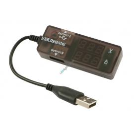 USB-Steckdosen Prüfgerät Volt/Ampère