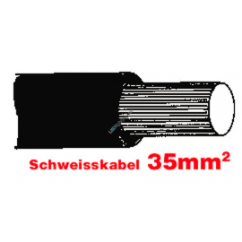 SGF Anlasserkabel hochflexibel 35mm sz