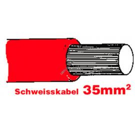 SGF Anlasserkabel hochflexibel 35mm2 rot