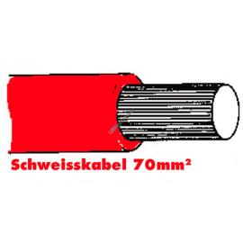 SGF Anlasserkabel hochflexibel 70mm rot