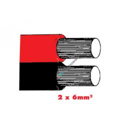 Twinflex 2x6.0mm2 Batteriekabel rot/sz