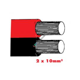 Twinflex 2x10mm2 Batteriekabel rot/sz