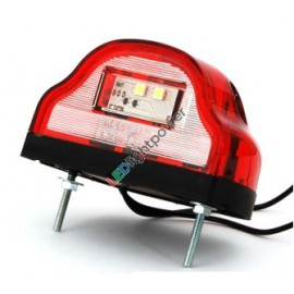 LED Kennzeichenleuchte 12/24V rot