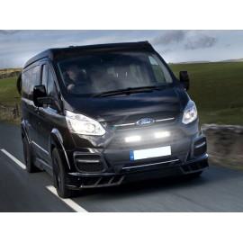 Kühlergrill Kit für Ford Transit Custom 2012 Plus, für LAZER Triple-R Fernlichter