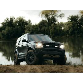 Kühlergrill Kit für Land Rover Discovery 4 2014, für LAZER Triple-R Fernlichter