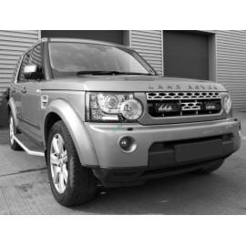 Kühlergrill Kit für Land Rover Discovery 4 2009, für LAZER Triple-R Fernlichter