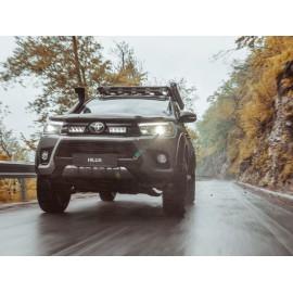 Kühlergrill Kit für den Toyota Hilux 2017, für LAZER Triple-R Fernlichter