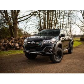 Kühlergrill Kit für den Toyota Hilux Invincible X , für LAZER ST4 Evolution Fernlichter