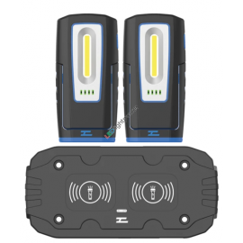 Profi LED Handlampe MINI mit Wireless Ladung