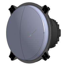 LED Hauptscheinwerfer 5.75 Zoll mit vier Befestigungslaschen