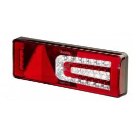 LED Schlussleuchte Truck-Lite M900, mit dynamischem Blinker und integrierter Lastsimulation, 24V, Anbauseite: links