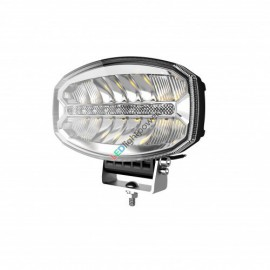 LED Fernscheinwerfer oval mit Tagfahrlicht 242x182, 12-24V