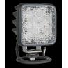 LED Arbeitsscheinwerfer mit Schalter 105x105, 12-24V, 800 Lumen