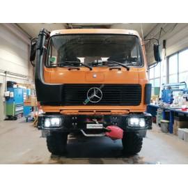 Voll LED Scheinwerfer Set für Mercedes Benz SK/NG mit Scheinwerferscheibenheizung