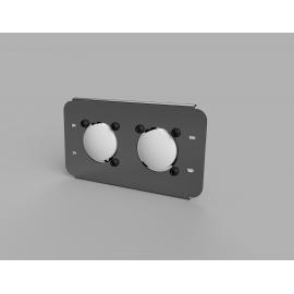 LED Scheinwerfer für Unimog U3000-5000, Komplettset mit zwei Scheinwerfer für 1:1 Austausch