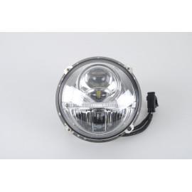 LED Scheinwerfer Set  Nolden 2. Generation  inkl. Tagfahrlicht, für VW Golf I, ohne el. Scheinwerferverstellung