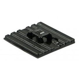 Klebesockel flexibel für Kabelbinder schwarz