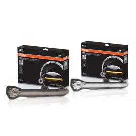 OSRAM LEDriving, Dynamischer Spiegelblinker Set für VW Golf 7+7.5, VW Touran II, VW Lamando, schwarz