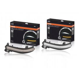 OSRAM LEDriving, Dynamischer Spiegelblinker Set für BMW 1er-4er Serie, BMW X1, Klarglas