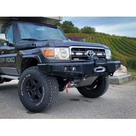 Kühlergrill Kit für den Toyota Landcruiser 70 Series 2007- , für LAZER ST Evolution Fernlichter