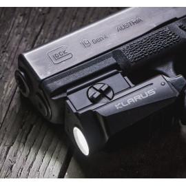 Klarus GL1 Pistolen Leuchte, 600 Lumen,  inkl. Akku und div. Zubehör